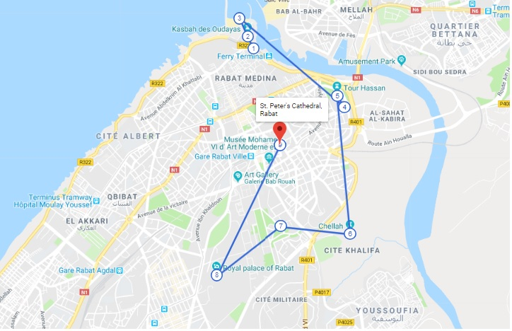 Rabat morocco one day Tour